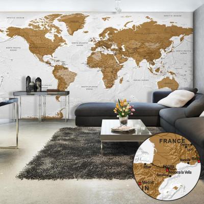 Fototapeta XXL - Mapa...