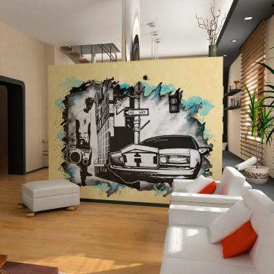 Fototapeta - Urban atmosphere