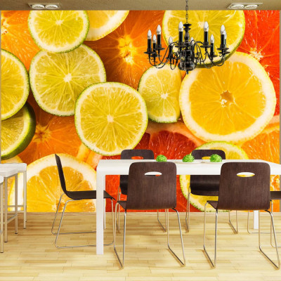 Fototapeta - Citrus fruits