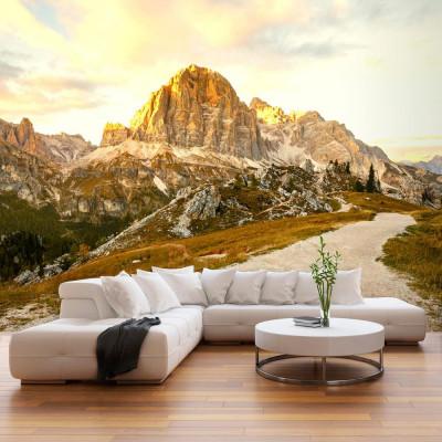 Fototapeta - Piękne Dolomity