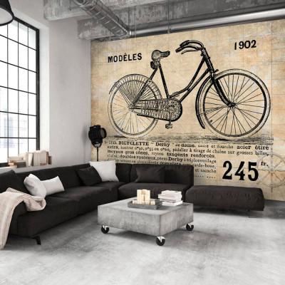 Fototapeta - Staromodny rower