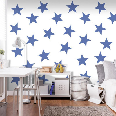 Fototapeta - Niebieska gwiazda