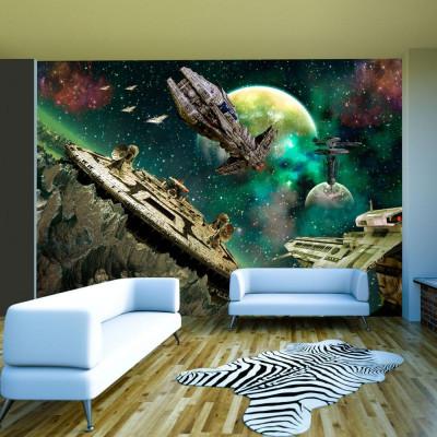 Fototapeta - Flota kosmiczna